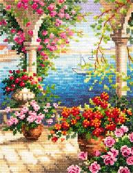 Cross stitch kit Flower breeze - Chudo Igla (Magic Needle)