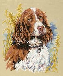 Cross stitch kit My dog - Chudo Igla (Magic Needle)