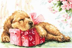 Cross stitch kit Guarding your gift - Chudo Igla (Magic Needle)