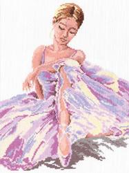 Borduurpakket Ballerina - Chudo Igla (Magic Needle)
