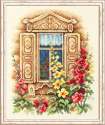 Borduurpakket Lovely Window - Chudo Igla (Magic Needle)