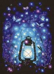 Cross stitch kit Magic light - Chudo Igla (Magic Needle)