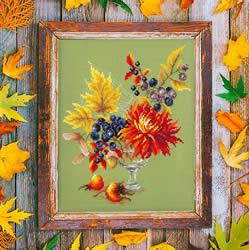 Borduurpakket Autumn bouguet - Chudo Igla (Magic Needle)