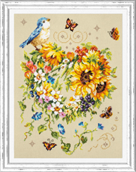Cross stitch kit Inspiration of Your Heart - Chudo Igla