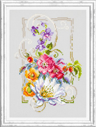 Cross stitch kit Happy July - Chudo Igla