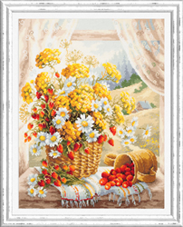 Cross stitch kit Honey Flavor - Chudo Igla