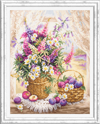 Cross stitch kit Summer Flavor - Chudo Igla