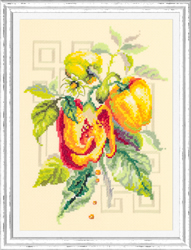 Cross stitch kit Pepper - Chudo Igla