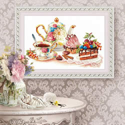 Borduurpakket Cakes - Chudo Igla