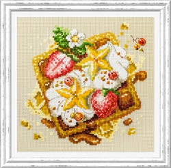 Cross stitch kit Viennese Waffles - Chudo Igla