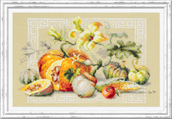 Cross stitch kit Pumpkin Fest - Chudo Igla