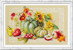 Cross stitch kit Autumn Gifts - Chudo Igla