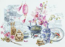 Cross stitch kit Oriental Serenity - Chudo Igla