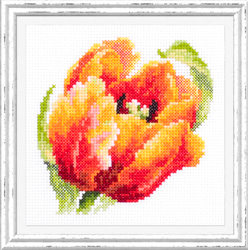 Cross stitch kit Red Tulip - Chudo Igla