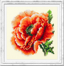 Cross stitch kit Poppy - Chudo Igla