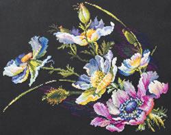 Cross stitch kit The Secret of Anemones - Chudo Igla