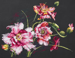 Cross stitch kit The Mystery of Poppies - Chudo Igla