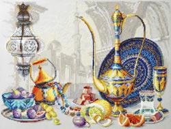 Cross stitch kit Bright Colors of Morocco - Chudo Igla