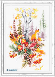 Cross stitch kit Autumn Forest Spirit - Chudo Igla