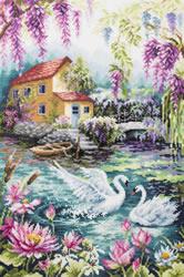 Cross stitch kit Dream Lake - Chudo Igla