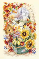 Cross stitch kit Autumn Story - Chudo Igla