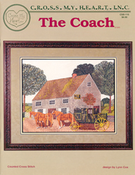 Cross Stitch Chart The Coach - Cross My Heart