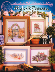 Cross Stitch Chart Pick-it Fences - Cross My Heart