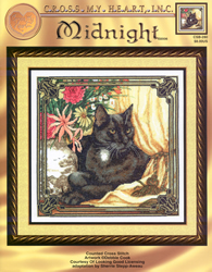 Cross Stitch Chart Midnight - Cross My Heart