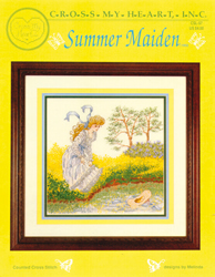 Cross Stitch Chart Summer Maiden - Cross My Heart
