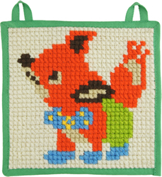Little Wallhanging 20 x 20 cm Pre-stamped - Duftin