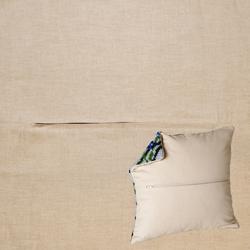 Kussenrug 45 x 45 cm Linen Grey - Duftin