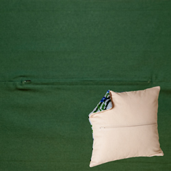 Pillowback 45 x 45 cm Dark Green - Duftin