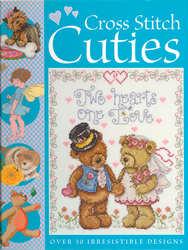 Borduurboek Cross Stitch Cuties - David & Charles