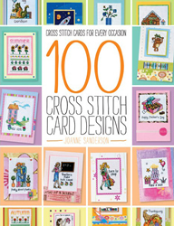 Borduurboek 100 Cross Stitch Card Designs - David & Charles
