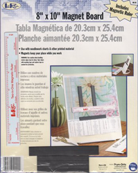 "Loran 8x10"" Magnet Board with Ruler - Prym"