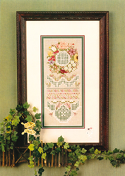 Hardanger Chart The Garden - Emie Bishop