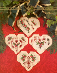 Hardanger Chart Christmas In My Heart - Emie Bishop