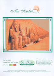 Cross Stitch Chart Abu Simbel - Eder