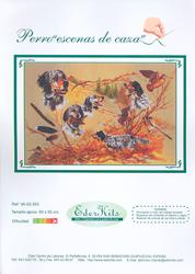 Borduurpatroon Perro, Escenas de Caza - Eder