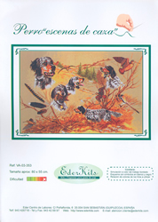 Cross Stitch Chart Perro, Escenas de Caza - Eder