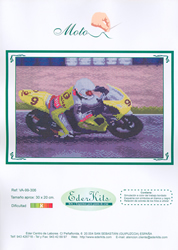 Cross Stitch Chart Moto - Eder