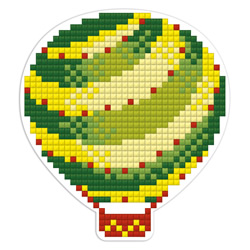 Diamond Painting Air Balloon Magnet - Freyja Crystal