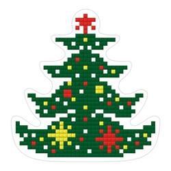 Diamond Painting Christmas Tree Magnet - Freyja Crystal