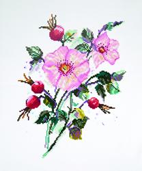 Diamond Painting Wild Rose - Freyja Crystal