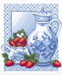 Diamond Painting Ripe Strawberry  - Freyja Crystal