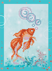 Diamond Painting Goldfish - Freyja Crystal