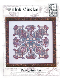 Cross Stitch Chart Perigrination - Ink Circles