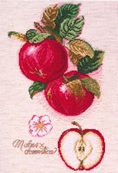 Cross Stitch Kit Apples - Janlynn