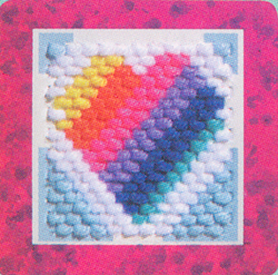 Rainbow Heart - Tuckables