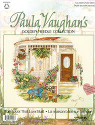 Cross Stitch Kit The House That Love Built - Janlynn